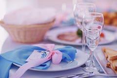 Еда свадьбы стоковая фотография