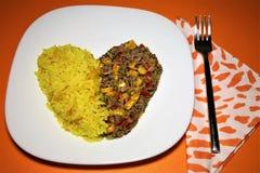 Еда средства для любовников Отсутствие contraindications! стоковая фотография rf