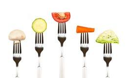 еда сырцовая Стоковые Изображения RF