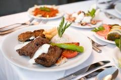 еда с богатым вкусом стоковые изображения rf
