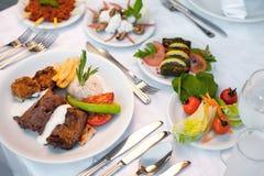 еда с богатым вкусом Стоковое Фото