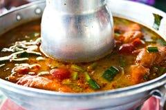 еда тайская Стоковое Изображение RF