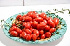 Еда томатов итальянская здоровая Стоковое фото RF