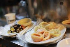 Еда улицы в Сеуле Стоковые Фото