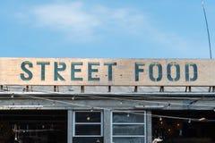 Еда улицы справедливая в Орхусе Стоковая Фотография RF