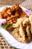 еда фарфора вкусная зажарила мясо Стоковое фото RF