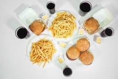 Еда фаст-фуда стоковые фото