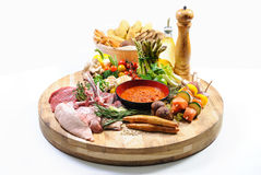 еда хлеба обилия сырцовая Стоковая Фотография RF