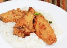 еда цыпленка китайская зажаренная Стоковые Фото