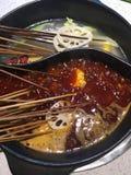 Еда Чэнду стоковое изображение rf