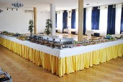 Еда шведского стола Стоковое Изображение RF