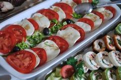 Еда шведского стола Стоковое Изображение