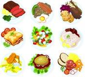 еда 02 Стоковые Изображения