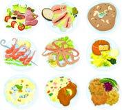 еда 05 Стоковые Изображения