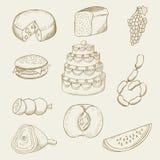 Еда Стоковые Изображения RF
