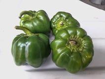 Еда Capsicum здоровая и зеленая овоща стоковое изображение rf