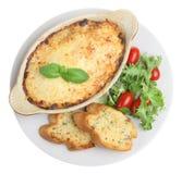 еда lasagna Стоковое Фото