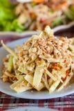 Еда Somtum тайская Стоковое Изображение RF