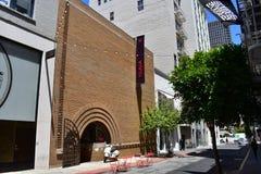 Единственное здание Фрэнк Ллойд Райт в Сан-Франциско, 1 стоковая фотография rf