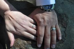 Единство замужества Стоковое Фото