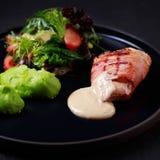 Еды завтрака, здоровая еда, меню ресторана стоковая фотография rf