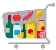Еды и еда Стоковое Изображение
