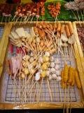 Еды и овощи зажаренные с перцем Сычуань были известно приправлять Xishuangba Стоковая Фотография RF