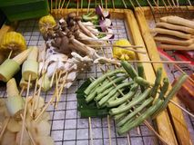 Еды и овощи зажаренные с перцем Сычуань были известно приправлять Xishuangba стоковые изображения rf
