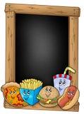 еды шаржа классн классного различные иллюстрация штока