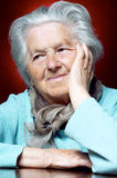ее женщина девяностых годы Стоковое фото RF