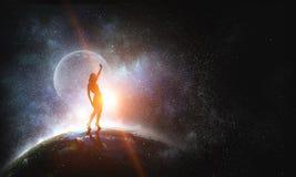 Ее мир танца Стоковые Фотографии RF