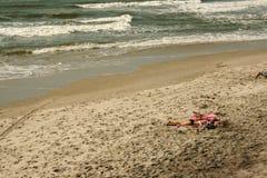 лежа солнце Стоковое Изображение
