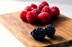 Ежевики и поленики ягод Стоковые Изображения