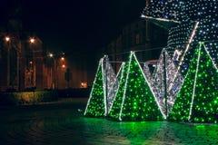 Ежегодная рождественская ярмарка Стоковая Фотография