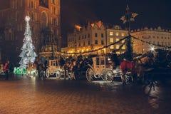 Ежегодная рождественская ярмарка Стоковые Изображения