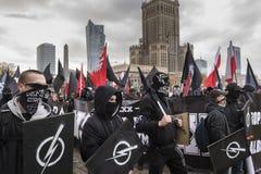 Ежегодный марш дня 2017 национальной независимости ` s Польши Стоковое Изображение