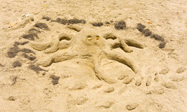 Ежегодная конкуренция sandcastle в наветренных островах стоковое фото