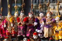 Ежегодная марионетка Мьянмы Стоковые Фотографии RF