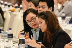Ежегодное собрание тайского общества для биотехнологии Стоковые Фотографии RF