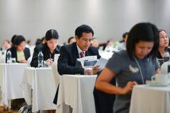Ежегодное собрание тайского общества для биотехнологии Стоковая Фотография