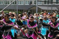 Ежегодный культурный фестиваль в Hammarkullen, Гётеборге, Швеции Стоковые Изображения