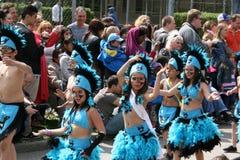 Ежегодный культурный фестиваль в Hammarkullen, Гётеборге, Швеции Стоковое Фото