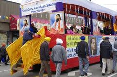 Ежегодный парад Ванкувера Vaisakhi Стоковые Изображения
