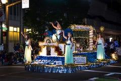 Ежегодный парад Starlight в Портленде городском Стоковые Фотографии RF