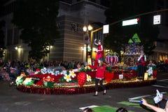Ежегодный парад Starlight в Портленде городском Стоковое Изображение
