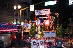Ежегодный парад Starlight в Портленде городском Стоковые Фото