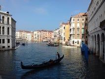 Ежедневный режим в Венеции стоковые фотографии rf