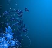 еженощное предпосылки флористическое Стоковое Изображение