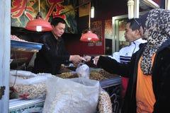 Ежедневная жизнь - Пекин, Китай Стоковые Фото