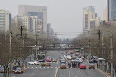 Ежедневная жизнь - Пекин, Китай Стоковое Фото